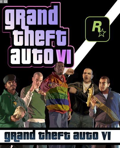GTA 6 Cover Fan-Made